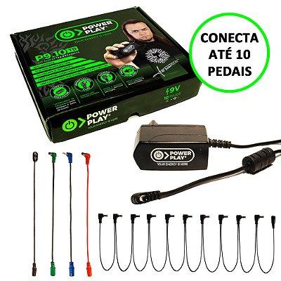 Fonte para Pedal 9V 2000mA 10 Saídas P9.10 Téo Dornellas - Power Play