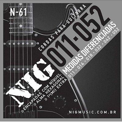Encordoamento Guitarra 011 N61 - NIG