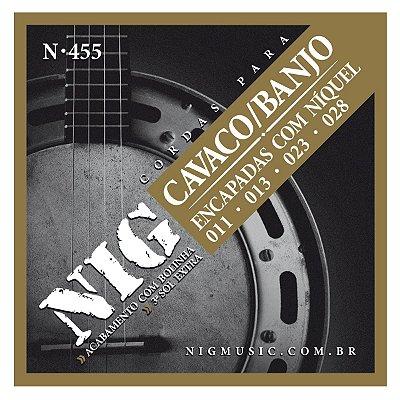 Encordoamento para Cavaco Banjo N455 - NIG