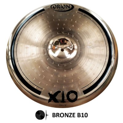 "Prato China 18"" SPX18CH Personalidade X10 - Orion"