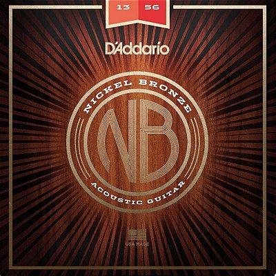 Encordoamento Violão Aço 013 NB1356 - D'Addario