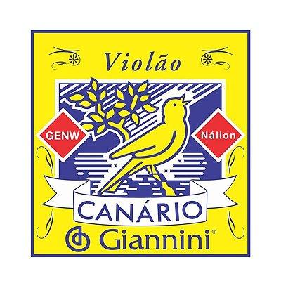 Encordoamento Violão Nylon Canário Com Chenilha GENW - Giannini