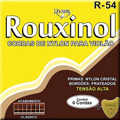 Encordoamento Violão Nylon Tensão Alta R54 Classico - Rouxinol