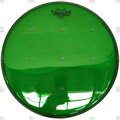 "Pele Colortone Verde 10"" Emperor Transparente BE-0310-CT-GN - Remo"
