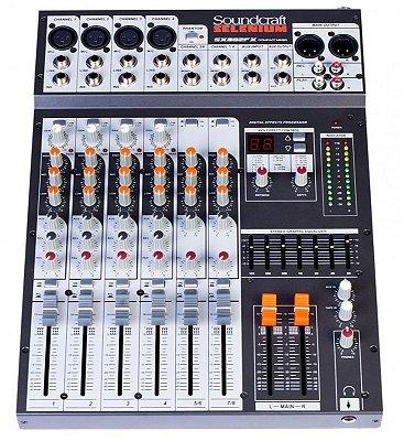 MIXER SX802FX-USB - SOUNDCRAFT SELENIUM