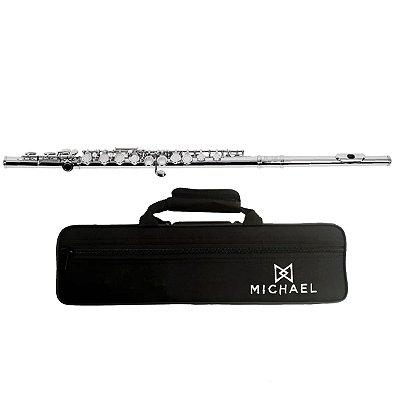 Flauta Transversal Niquelada WFLM30N - Michael