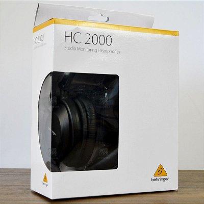 Fone de Ouvido HC 2000 - Behringer