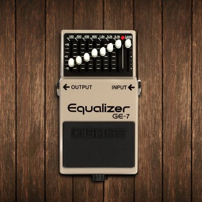 Pedal Equalizador para Guitarra GE-7 - Boss