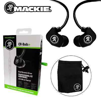 Fone de Ouvido In Ear CRBUD+ Dual Dynamic (2 Drivers) - Mackie
