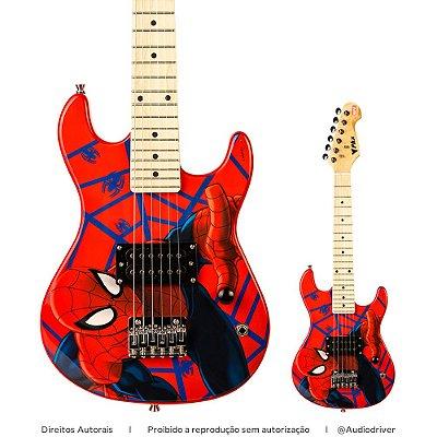 Guitarra Infantil PHX Marvel Spider Man GMS-K1