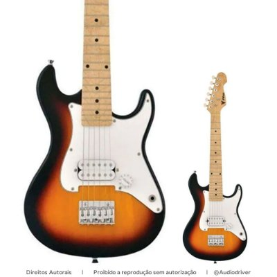 Guitarra Infantil PHX Strato JR IST-H 3TS