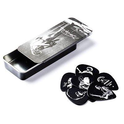 Palheta Jimi Hendrix Sortida Grossa/Média Lata com 12 Unidades - Dunlop