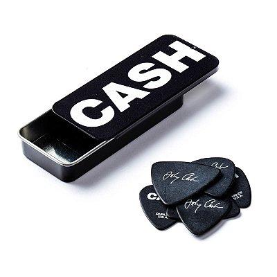 Palheta Johnny Cash Bold Média CX C/6 JCPT04H - Dunlop