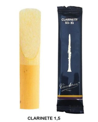 Palheta Clarinete Sib Nº 1,5 Tradicional CR1015 - Vandoren