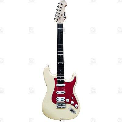 Guitarra Strato Power HSS ST-H CH Creme - PHX
