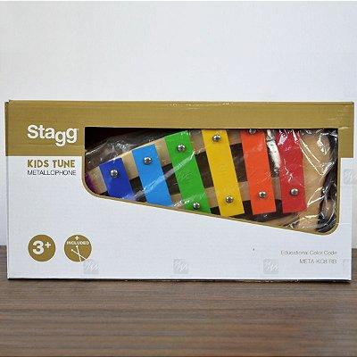 Metalfone Stagg Curvo META-KC8 RB
