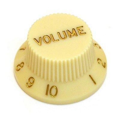 Knob Guitarra Strato Volume Cream - SANTO ANGELO