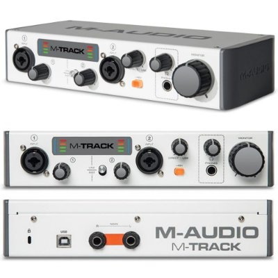 Interface de Audio USB M-Track II - M-Audio