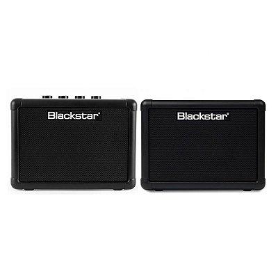 """Kit Combo Amplificador 3W + Caixa 1X3"""" 3W p/ Guitarra Fly Pack BLK - Blackstar"""