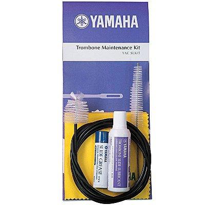 Kit de limpeza para Trombone C/ 5 Produtos SL-M C/5 Flanela Cinza - Yamaha