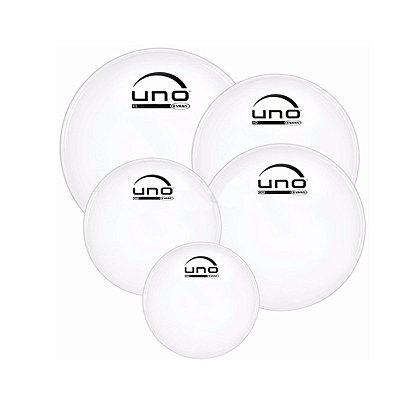 """Kit de Pele Fusion UPG2CLF22 10"""", 12"""", 14"""", 14"""" e 22"""" Uno - Evans"""