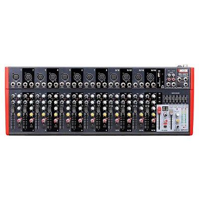 Mixer 16 Canais NVK-1602 BT 220V - Novik