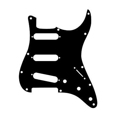 Escudo para Guitarra Strato Spirit para 3 Singles - X200 Black