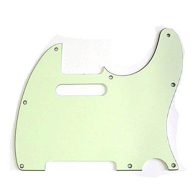 Escudo para Guitarra Telecaster Mint Green MG X310 3P - Spirit