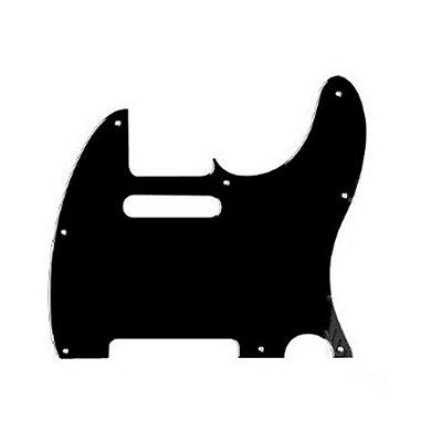 Escudo para Guitarra Telecaster X310 Preto 3P - Spirit