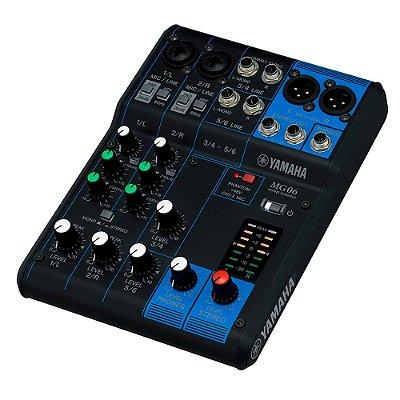 Mixer Mesa de Som Yamaha MG06