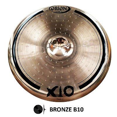 "Prato Ataque Crash 16"" SPX16CR X10 Bronze B10 - Orion"