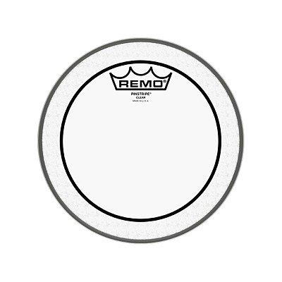 """Pele para Tom 8"""" Pinstripe Transparente PS-0308-00 - Remo"""