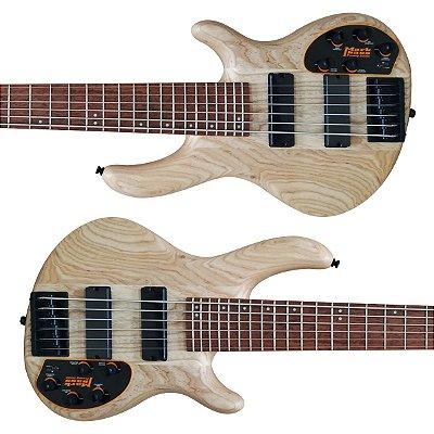 Baixo 6 Cordas Ativo Pre Mark Bass ACT ASH VI OPN - Cort