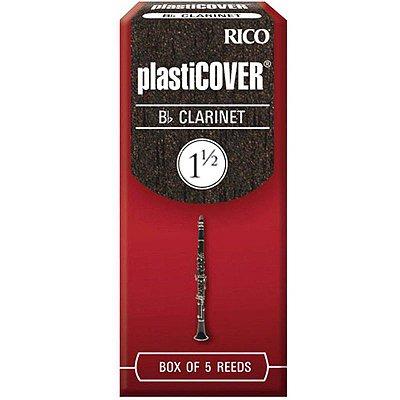 Palheta Clarinete 2,0 RRP05BCL200 Caixa Fechada 5 Unidades - Plasticover