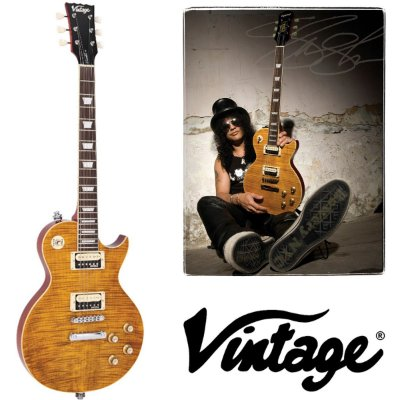 Guitarra Les Paul  V100AFD Vintage Paradise Slash AMB - Vintage