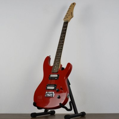 Guitarra Waldman GTU-1/INT Strato 2 Humbucker RD Vermelha
