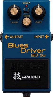 Pedal para Guitarra Boss Blues Driver BD-2W Waza Craft