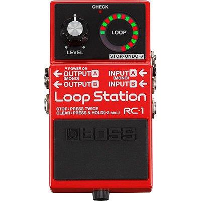 Pedal de Loop Station RC-1 - Boss