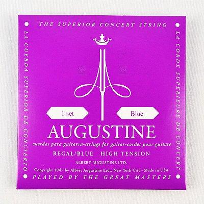 Encordoamento Violão Nylon Regal Blue Tensão Extra Alta - Augustine