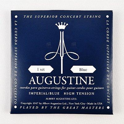 Encordoamento Violão Nylon Imperial Blue Tensão Extra Bordões / Alta Primeiras - Augustine