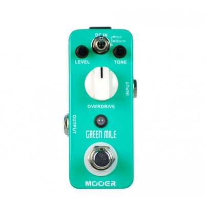 Pedal Green Mile Overdrive MMO - Mooer