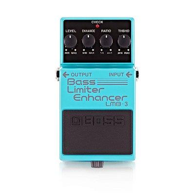 Pedal Para Contra-Baixo Bass Limiter Enhancer LMB-3 - Boss