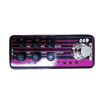 Pedal Pré Amplificador para Guitarra Blacknight M009 (Baseado no Engl Blackmore) - Mooer