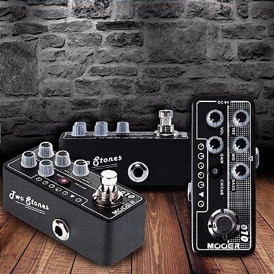 Pedal Pré Amplificador para Guitarra Two Stones M010 (Baseado no TwoRock® Coral) - Mooer