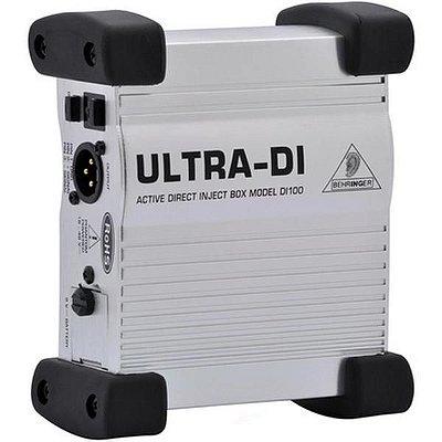 Direct Box Ativo DI100 - Behringer