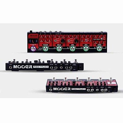 Pedaleira para Guitarra Pedais Analógicos Red Truck CPT1 - Mooer