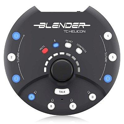 Interface de Audio 5 Canais / Mixer Portátil Blender - TC Helicon