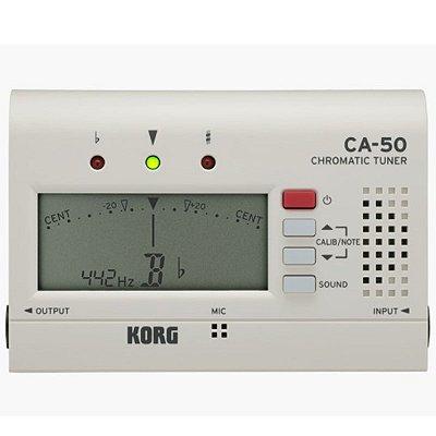 Afinador para Instrumentos de Sopro e Cordas AFINADOR KORG COMPACTO CROMATICO CA-50 - Korg