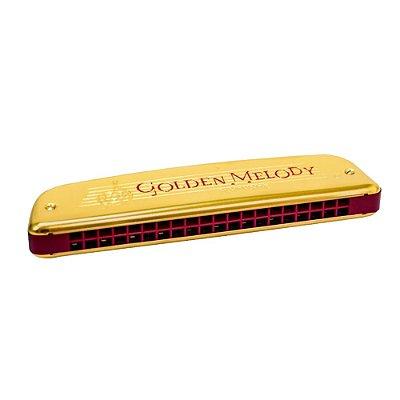 Harmônica Golden Melody 2416/4 Em C (Dó) - Hohner