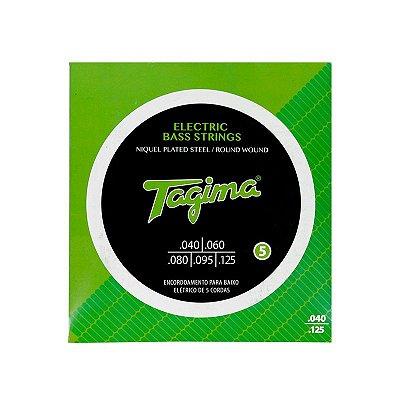 Encordoamento Baixo 5 Cordas 0.040 TCB 540 - Tagima
